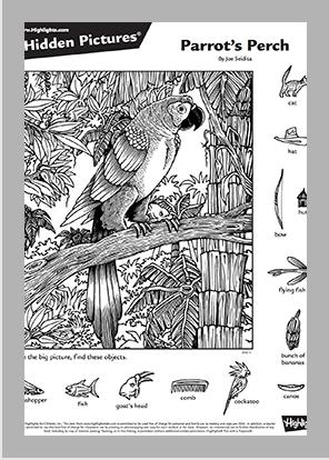 34_Parrots-Perch_template