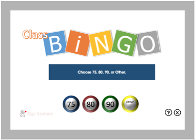 Class-Bingo