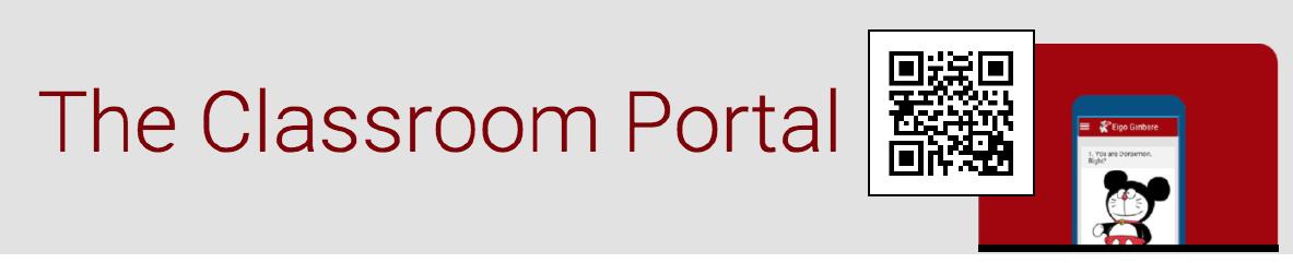 Eigo Ganbare Classroom Portal