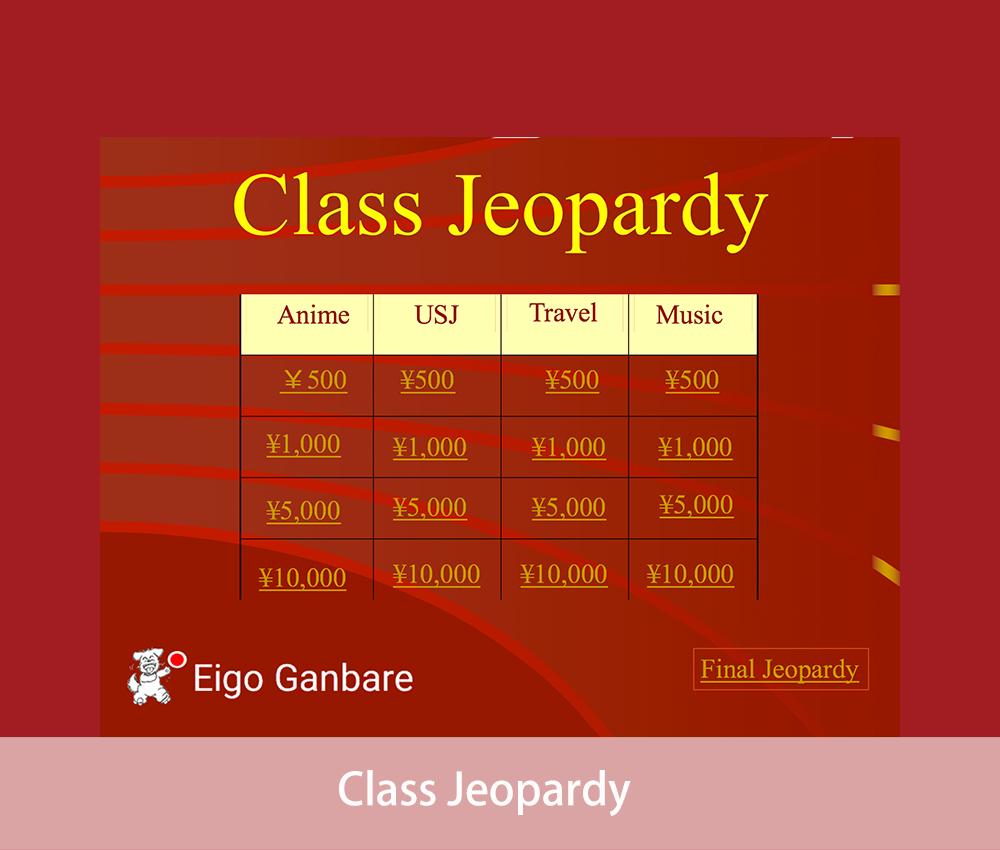 Class-Jeopardy