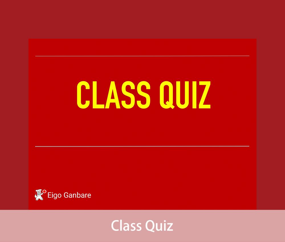 Class-Quiz