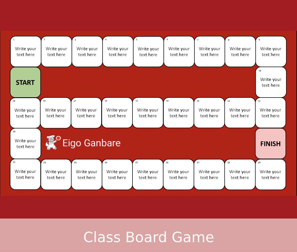 Class-Board-Game